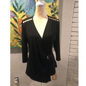 Women Michael Kors wrap shirt